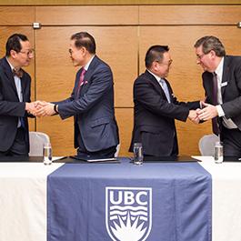 Dr. Santa J. Ono, Dr. Edwin Leong, Mr. Frank K.W. Lee. Senior Partner, Vincent T.K. Cheung, Yap and Co. and Dr. Dermot Kelleher